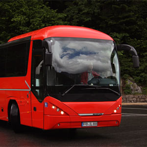 Neoplan red